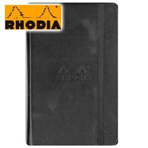 ノート A6 方眼 ロディア WEBNOTEBOOK ウェブノートブック ドット方眼 A6 3冊セット ブラック CF118569 nomado1230