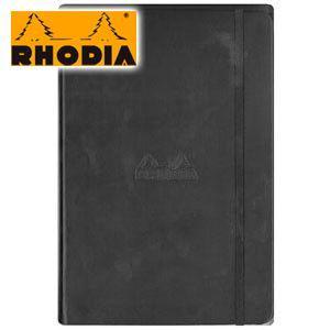 ノート A5 横罫 ロディア WEBNOTEBOOK ウェブノートブック 横罫 A5 2冊セット ブラック CF118609 nomado1230