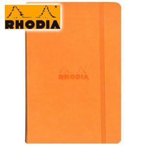 ロディア WEBNOTEBOOK ウェブノートブック ドット方眼 A5 2冊セット オレンジ CF118768 nomado1230