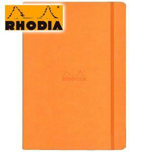 ノート A4 方眼 ロディア WEBNOTEBOOK ウェブノートブック ドット方眼 A4 2冊セット オレンジ CF118868 nomado1230