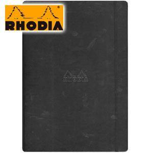 ノート A4 方眼 ロディア WEBNOTEBOOK ウェブノートブック ドット方眼 A4 2冊セット ブラック CF118869 nomado1230