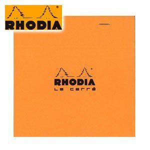 ブロックメモ 方眼 ロディア ブロックロディア ル・キャレ No.148 オレンジ 5ミリ方眼 5冊セット cf148200|nomado1230
