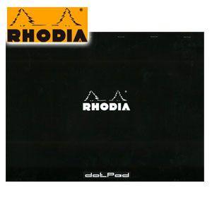 ブロックメモ A3 方眼 ロディア ブロックロディア ドットパッド ブラック No.38 A3+ 5ミリ方眼 2冊セット cf38559|nomado1230