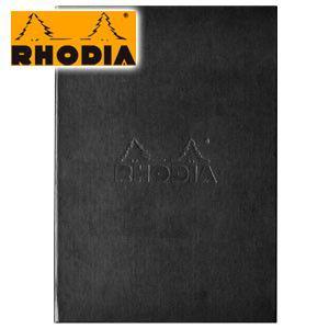 ブロックメモ ロディア ハードカバー No.16 2セット ブラック cf-rdhc16bk|nomado1230