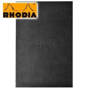 ブロックメモ ロディア ハードカバー No.19 ブラック cf-rdhc19bk|nomado1230