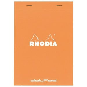 ロディア ドットパッド No.16 10セット オレンジ cf16558|nomado1230