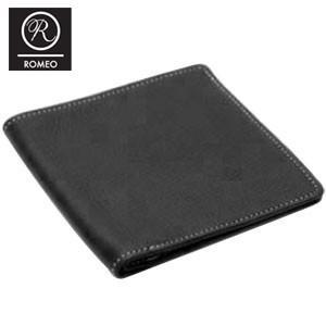 メンズ 長財布 革 ロメオ(ROMEO) オイルキップ 札入れ ブラック R01|nomado1230