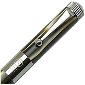 ROMEO ボールペン 名入れ ロメオ(ROMEO) No.3 ボールペン 細軸 マーブルグレイ/ガンメタル R-234|nomado1230|03