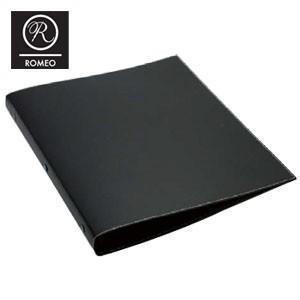 バインダー 革 A4 ロメオ(ROMEO) レザーファイル バインダー A4 2冊セット RBL01|nomado1230