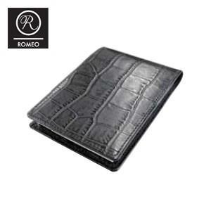 レポートパッド 革 ロメオ(ROMEO) ブロックロディア11200 10冊セット付き クロコ型押し Sサイズ メモパッド 黒 RLC04BKSET|nomado1230
