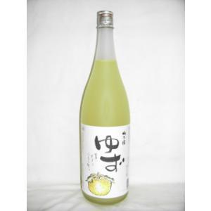 梅の宿 ゆず 1800ml 8度 [梅乃宿酒造 奈良県 柚子リキュール 日本酒ベース]|nomasaketen