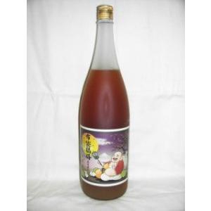 布袋福梅 1800ml 12度 [河内ワイン 大阪府 梅酒 焼酎ベース ブランデーブレンド]|nomasaketen
