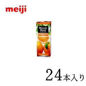 ミニッツメイド オレンジ100% 200ml×24本 nomimon
