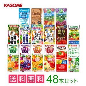 お歳暮 カゴメの野菜ジュース48本セット 16類から8種類選...