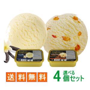 アイガー2種類から選べるニュージーランドアイスクリーム 800ml 4個セット|nomimon