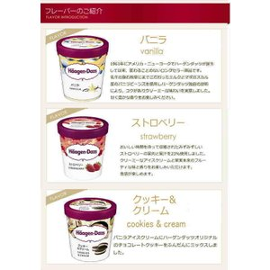 ハーゲンダッツ アイスクリーム・パイント(473ml) おすすめ6個セット|nomimon|02