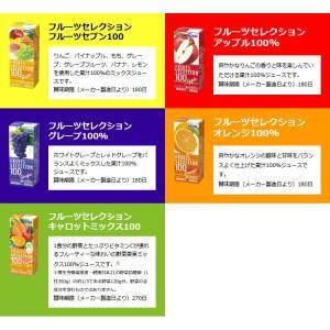 お中元 カゴメの野菜ジュース&エルビー果汁100%ジュース  19種類から4種類も選べる♪(4種類×6本)|nomimon|05