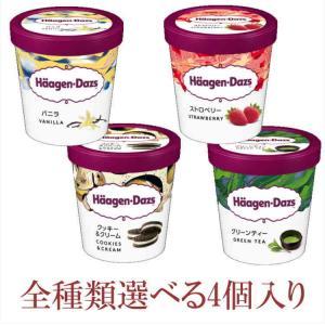 ハーゲンダッツとベン&ジェリーズ アイスクリーム パイント[業務用] 5種類から選べる4個セット|nomimon