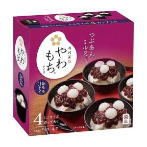 井村屋 BOXやわもちアイス つぶあんミルクカップ(80ml×4個)箱セット|nomimon