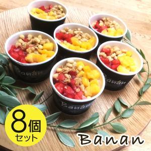 お中元 アイスクリーム ギフト ヘルシースイーツ バナン  banan 8個セット