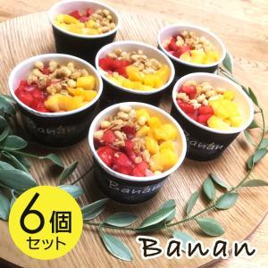 お中元 アイスクリーム ギフト ヘルシースイーツ バナン  banan 6個セット|nomimon