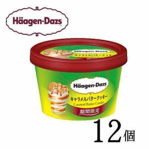 ハーゲンダッツ ミニカップ キャラメルバタークッキー 12個