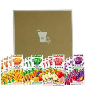 お中元 カゴメの野菜ジュース 24本 ギフトボックス入り|nomimon