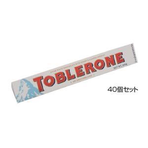 トブラローネ ホワイトチョコレート 100g×40個セット 送料無料  代引き不可 メーカー直送、期...