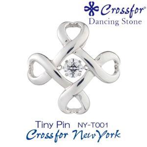 クロスフォーニューヨークダンシングストーン ピンブローチ Tiny Pin NY-T001|nomura-j