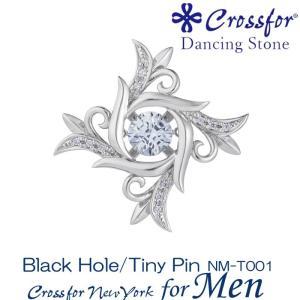 クロスフォーニューヨークフォーメンダンシングストーン ピンブローチ Black Hole NM-T001|nomura-j