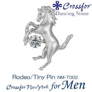 クロスフォーニューヨークフォーメンダンシングストーン ピンブローチ Rodeo NM-T002|nomura-j