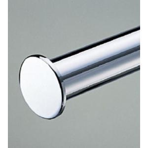ロイヤルのガチャ柱でハンガーパイプを設置する場合、このエンドキャップが一押しです!  32ミリ丸パイ...