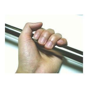 短いちょっとした手すりやハンドルを取り付けたい時! または押入れの中などに、ちょっとしたハンガーかけ...