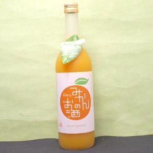 1回のご注文で12本まで(北海道、沖縄、離島地域は除く。配送は佐川急便のみ。)みかん果汁80%も入ってる「国盛みかんのお酒」720ML瓶1本|nondonkai