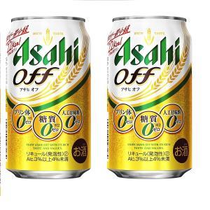ギフト プレゼント 敬老の日 家呑み 第3ビール 2ケース単位 アサヒオフ 350ml缶 6缶パック×4入=24本×2 2ケース 一部地域送料無料|nondonkai