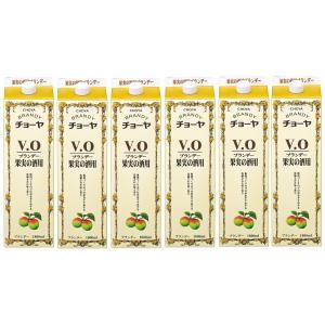 ギフト プレゼント 家飲み 家呑み ブランデー チョーヤ ブランデー VO パック 1.8L 6本 和歌山県 チョーヤ梅酒 一部送料無料|nondonkai