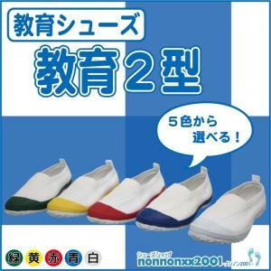 教育シューズ★教育2型★青/赤/白/グリーン/イエロー|nonnonxx2001