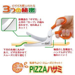 ののじ Pizzaはさみ ピザ ハサミ 万能 多目的 多機能 ステンレス はさみ 切る カット 家庭 家族 主婦 パーティー PIZZA 実用的 父の日 nonoji 02