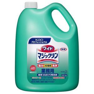 花王 厨房・水まわり用洗浄剤 ワイドマジックリン 3.5kg×4本入●ケース販売お徳用|nontarou