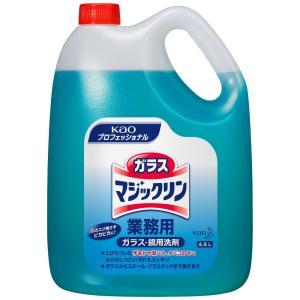 花王 ガラスマジックリン 4.5L×4本入●ケース販売お徳用|nontarou