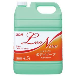 ライオン レオナイス ボディソープ 4.5L×3本入●ケース販売お徳用|nontarou