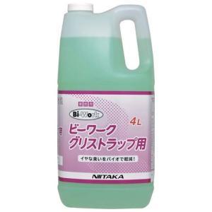 ニイタカ 微生物製剤 ビーワーク グリストラップ用 4L nontarou