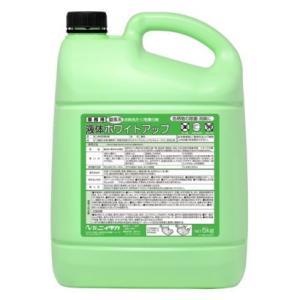 ニイタカ 衣料用酸素系漂白剤 液体ホワイトアップ 5kg×3本入【メーカー直送または取り寄せ】|nontarou