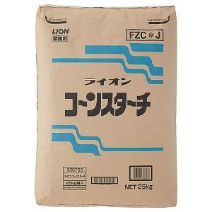 ライオンコーンスターチ ランドリー用糊剤 25kg【取り寄せ商品・即納不可・代引き不可・返品不可】
