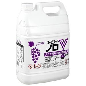 攝津製油 アルコール製剤 ユービコールノロV 5L|nontarou