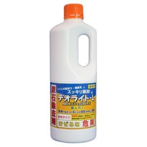 デオライトL 尿石除去剤 1kg×12本入り