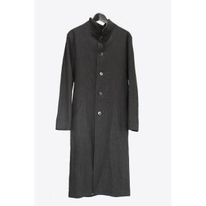 【Atelier Aura/アトリエアウラ】Larus long linen coat オーガニックリネンロングコート 46   アルチザン メンズ |nontitletokyo