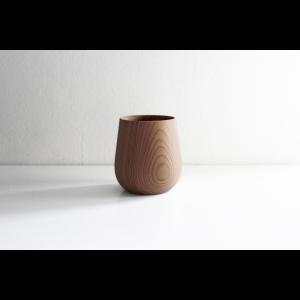 洗練された美しいフォルム 木工アーティスト FUQUGI フクギ Q  Drink Cup ドリンクカップ Natural ハンドメイド 職人の器 作家物 作家の器|nontitletokyo