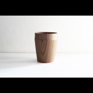 手に馴染む木の器 木工アーティスト FUQUGI フクギ TROLL Drink Cup ドリンクカップ Natural ハンドメイド 職人の器 作家物 作家の器|nontitletokyo