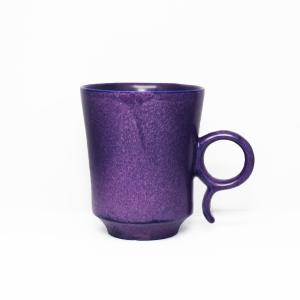 陶芸作家 古賀崇洋 Mug Cup マグカップ ver01  Purple パープル 紫の器 作家の器 作家物 |nontitletokyo